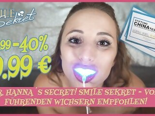 DR. HANNA'S SECRET! SMILE..
