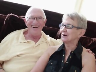 Elderly husband fucked with..